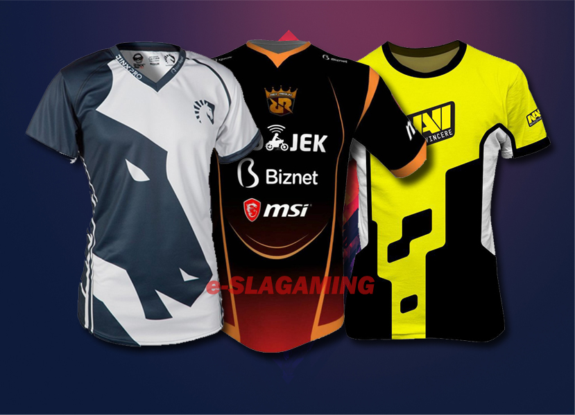 custom jersey gaming