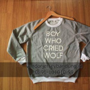 Sweater Custom Satuan Bandung