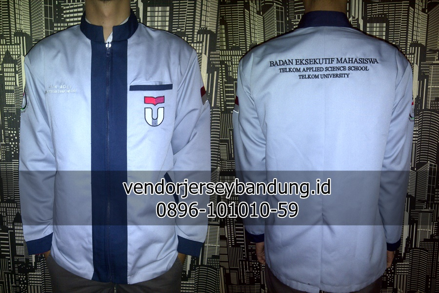 Jaket Kampus Telkom University