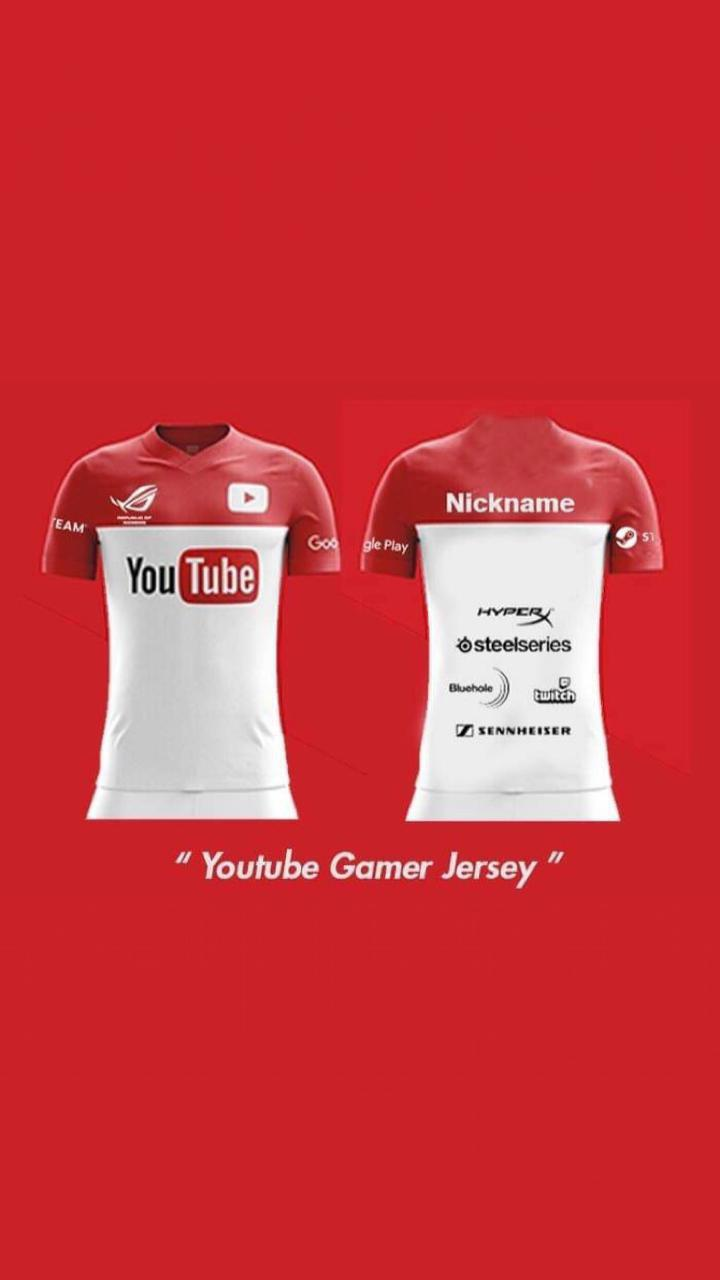 Jersey Gaming Berkualitas untuk Youtuber Gaming