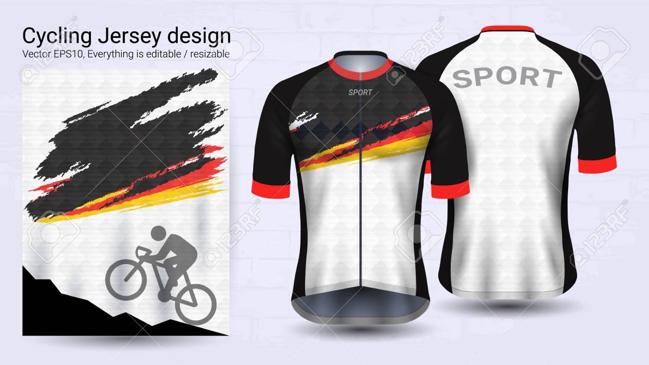 Desain Jersey Sepeda Keren